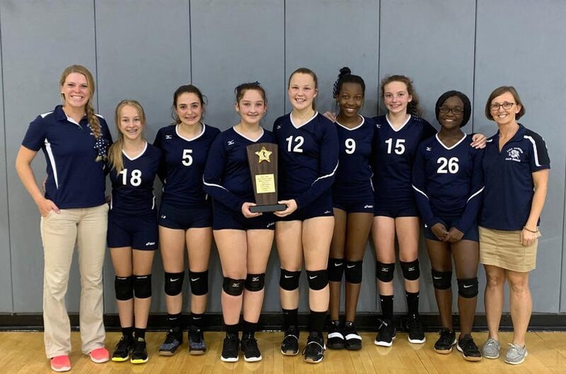 Picture Girl's Volleyball Runner Up
